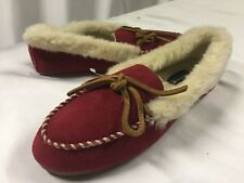 2de123b17ccf Sperry Top Sider Women s Slippers Size 6 Jmh1235 Red