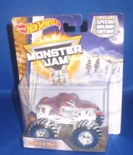 SPECIAL HOLIDAY ED. HOT WHEELS MONSTER JAM 25 1:64 MONSTER MUTT MONSTER TRUCK