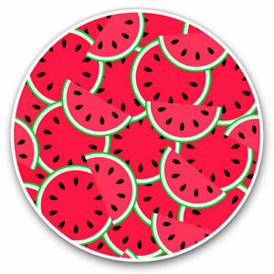 2 x Vinyl Stickers 7.5cm - Watermelon Fruit Healthy Living Cool Gift #14765