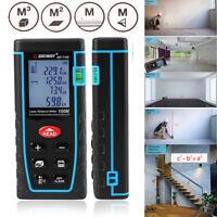 Handheld Digital Laser Distance Meter 100m Measure tool Range Finder Diastimeter