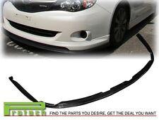For 2008-2010 Subaru Impreza 4Dr STI Style CF Front Bumper Lip Carbon Fiber