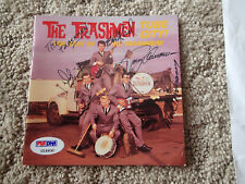 THE TRASHMEN Signed AUTOGRAPHED SURFIN BIRD CD COVER Beckett LOA TUBE CITY