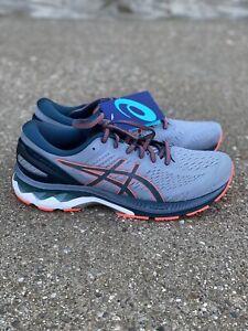 ASICS Gel Kayano 27 Men's Size 10 D Sheet Rock/magnetic Blue Running Shoe