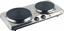 New Portable Double Dual Hotplate Hot Plate Cooktop Grill Maxim HP102