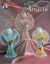 "Crochet Angel tree topper ""Pastel Angels"" Annie Potter"