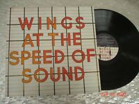 "Wings  ""Wings At The Speed Of Sound"" LP Capitol Records ‎SW-11525 Paul McCartney"