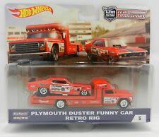 Hot Wheels *TEAM TRANSPORT* Tom McEwen MONGOOSE Duster Funny Car & Truck *NIP*
