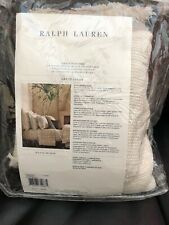 Ralph Lauren Great Sands Euro Sham Lowden Cream