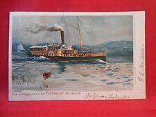 Postkarte Marine Schiffe Original Der Bayrische Dampfer RUPPRECHT(Bodensee)