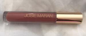 NEW Josie Maran Argan Oil Natural Volume Lip Gloss Full Size ROSY (Pink Rose)