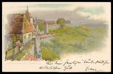 Deutschland Sammeln & Seltenes Ak Rothenburg Ob Der Tauber Alte Ansichtskarte Foto-ak Postcard Cx41