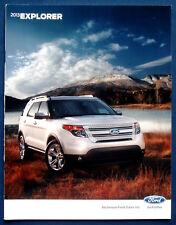Prospekt brochure 2013 Ford Explorer (USA)