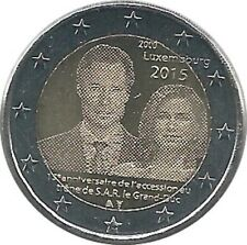 Luxembourg - 2 Euro 2015 - Couronnement