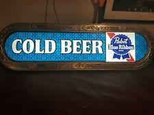 "Vintage PABST BLUE RIBBON BEER 37"" Beer Light - BRAND NEW OLD STOCK"