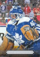 2014-15 SP Authentic Hockey #161 Jonathan Bernier Modern Moments Maple Leafs