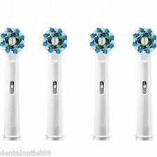 4 pcs Electric Tooth brush Replacement Heads Fit For  Cross Action