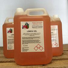 4 x Gel Floor Cleaner Lemon / Pine 5ltr 5 Litre 5L Fresh Clean Bar 20L 20 Litre