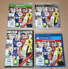 """Collectible FIFA 17 Preorder Boxes PS4 Xbox One PC PS3 """"NO GAME INCLUDED"""""""