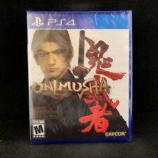 Onimusha Warlords (PS4 / PlayStation 4) BRAND NEW / Region Free