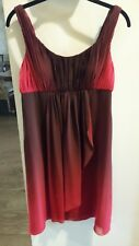 JS Boutique Cocktail/Party Dress Red and Burgundy Ombre Size 8 Pre-Owned