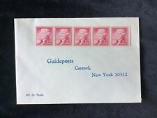 2 Cent Thomas Jefferson Stamps on envelope, for Guidepost Magazine.