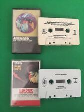 JIMI HENDRIX Band of Gypsies / Are You Experienced Cassette Tapes 2 Lot
