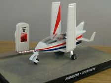 ALTAYA JAMES BOND 007 ACROSTAR PLANE CAR MODEL DY090 1:43