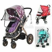 Baby Stroller Cover Waterproof Umbrella Stroller Wind Rain Shield Protect Net