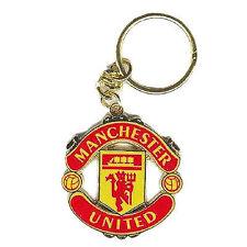 Manchester United Football Club Crest Car Keyring Key Ring Official Man Utd MUFC