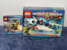 LEGO Space Police Raid VPR 5981 + Space Speeder 8400 New Sealed Rench Snake