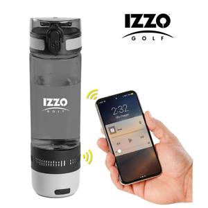 IZZO Golf Cycling Walking etc 16OZ (473ml) Water Bottle With BLUETOOTH SPEAKER