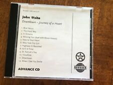 John Waite : Downtown Journey of a Heart Rock Advance Promo CD