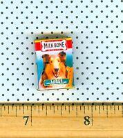 Dollhouse Miniature size SMALL DOG BONES  Box
