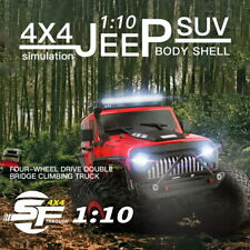 WLtoys 104311 1:10 4WD 2,4GHz RC Car Crawler Geländewagen Off-Road Jeep RTR LED