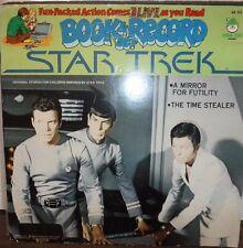 Book & Record Set Star Trek 33RPM Peter Pan BR513   021217LLE