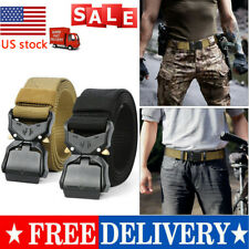 2021 Men's Military Tactical Belt Army Combat Waistband Rescue Rigger Belts HOT
