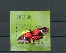 Micronesia 2014 MNH Butterflies 1v S/S II Insects Postman Butterfly Heliconius