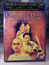 Crouching Tiger, Hidden Dragon Dvd widescreen