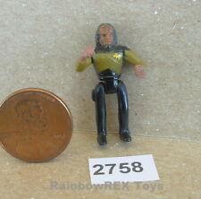 LIEUTENANT COMMANDER WORF from Klingon Bird-Of-Prey Mini Star Trek Playset