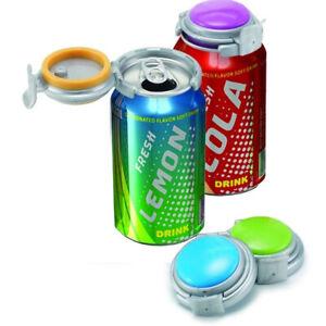 Jokari Soda Beer Can Pump Keep Drinks Carbonated Assorted Colours