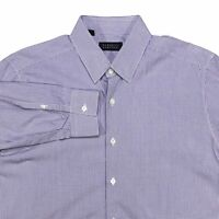 BARNEYS NEW YORK MADE IN ITALY MENS LONG SLEEVE BUTTON DOWN SHIRT SIZE L