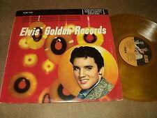 "@ ELVIS PRESLEY 33 TOURS LP 12"" CANADA ELVIS' GOLDEN RECORDS (ORANGE VINYL)"