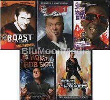 Comedy Central Roast Of DVD Lot David Hasselhoff Bob Saget William Shatner + NEW