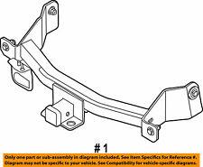 2009-2014 Ford F-150 Rear Bumper-Trailer Hitch CL3Z-19D520-A