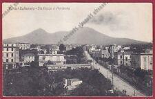 NAPOLI PORTICI 12 BELLAVISTA Cartolina viaggiata 1931