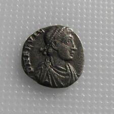 Rare Roman Silver Siliqua Of Flavius Victor Son Of Magnus Maximus 387-388