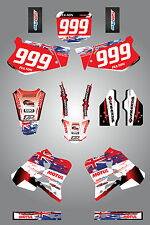 Full  Custom Graphic  Kit -AUSSIE PRIDE - HONDA CR 250 - 1995 / 1996 stickers