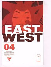 Lot Of 2 East Of West Image Comic Books # 4 5 NM Copies 1st Prints Hickman J57