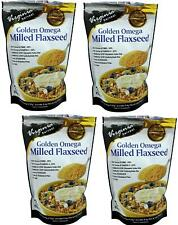 Virginia Harvest Golden Omega Milled Flaxseed 450 g (Pack of 4)