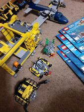 Lego 60096 City Deep Sea Operation Base Set Minifigures Manuals